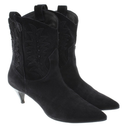 Saint Laurent Ankle boots in Western look