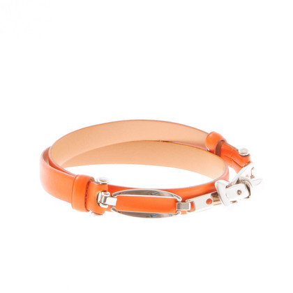 Other Designer ABRO orange leather belt