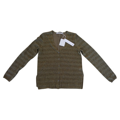 Schumacher Jacket made of silk / linen / metal