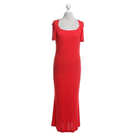 in Rot Escada Escada Rot Kleid Kleid in wHzIHqg