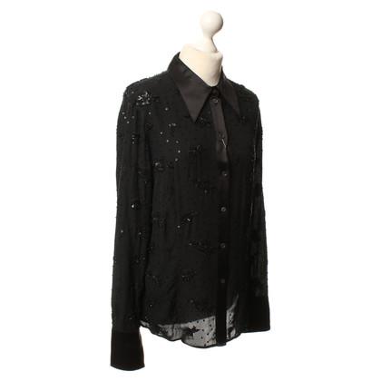Escada Zijden blouse in zwart