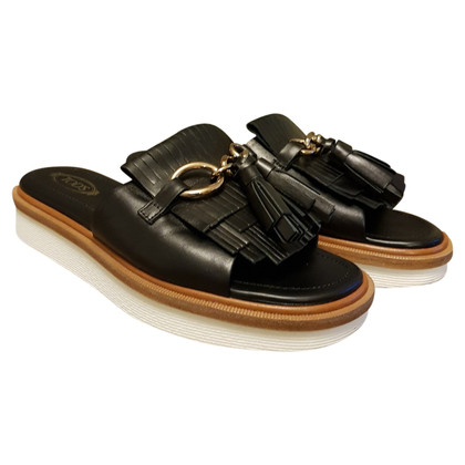 Tod's Mules with tassels