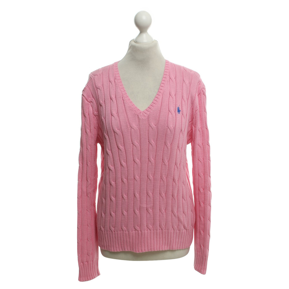 polo ralph lauren pullover in pink second hand polo ralph lauren pullover in pink gebraucht. Black Bedroom Furniture Sets. Home Design Ideas