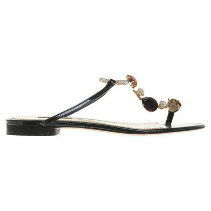 Dolce & Gabbana Sandals with application