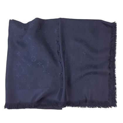 Louis Vuitton Scialle Louis Vuitton Monogram Night Blue