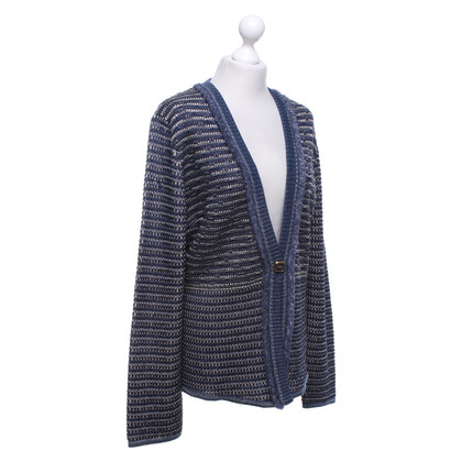 Escada Cardigan in blue tones
