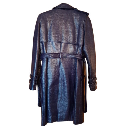 Gianni Versace Coat made of crease-leather