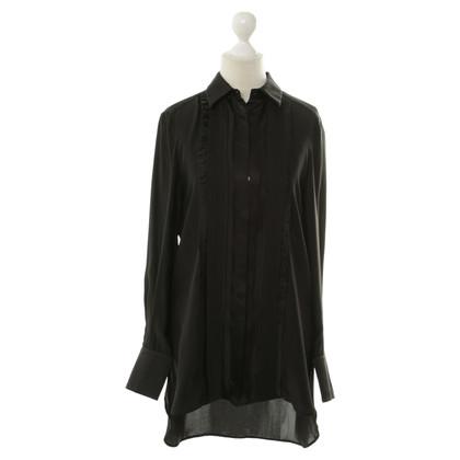 Philosophy di Alberta Ferretti Silk blouse in black