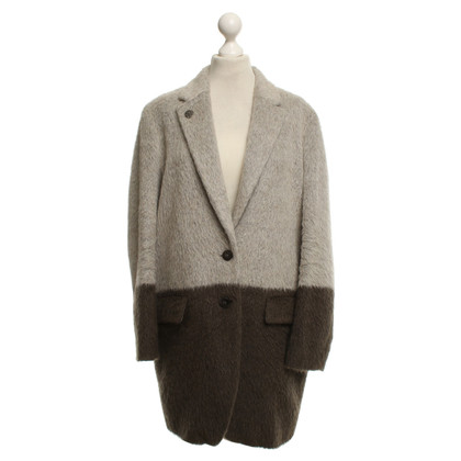 René Lezard Coat in grey