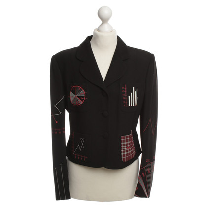 Moschino Cheap and Chic Blazer pattern