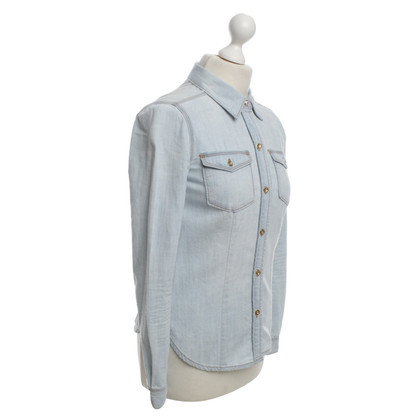 Juicy Couture Denim Shirt in Light Blue