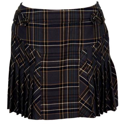 Karen Millen Checkered skirt made of wool
