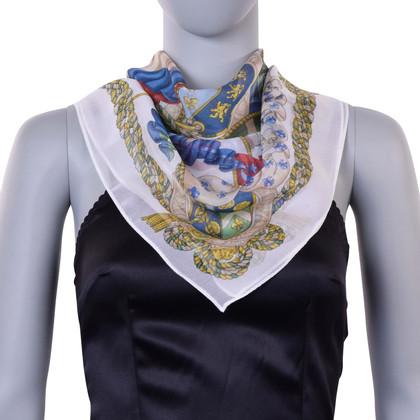 D&G Sciarpa di seta con stampa