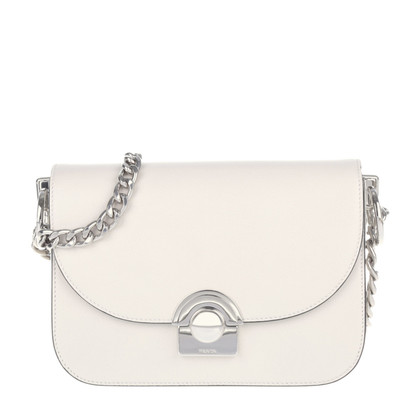 "Prada ""Leonade Glacé calf cross body TALCO"""