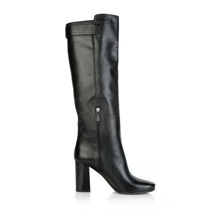 Prada Black boots with stiletto heel
