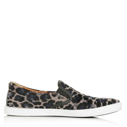 Jimmy Choo Leopardo stampa slip on