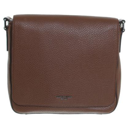 "Michael Kors ""Bryant MD Flap Messenger Bag"" in Braun"