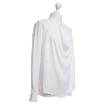 Vince Zijden blouse wit