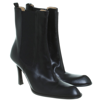 Bally Tronchetto in pelle nero