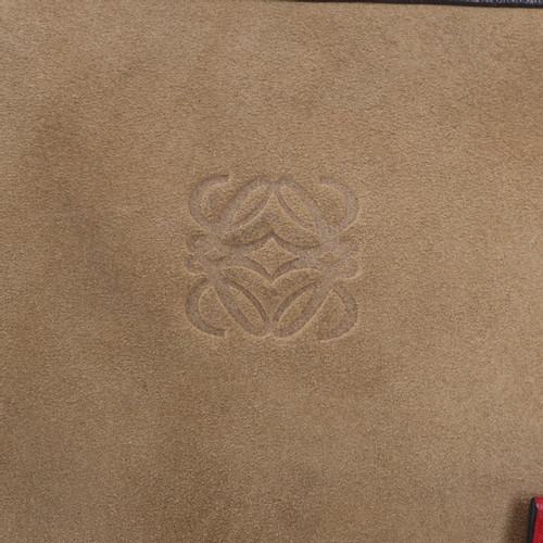 Loewe Handtasche in Tricolor  Beige kwUfs