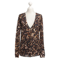 Roberto Cavalli Cardigan with animal print