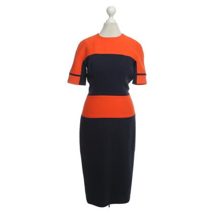 Victoria Beckham Colourblocking knit dress