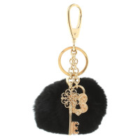 Dolce & Gabbana Keyring with mink