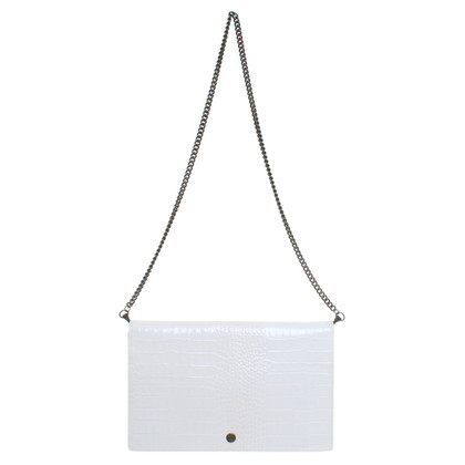 Marc Jacobs Clutch in Weiss