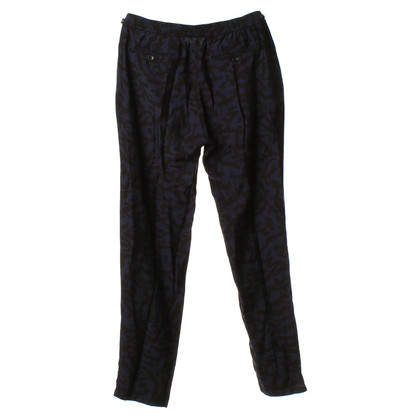 Hartford Pants in blue/black