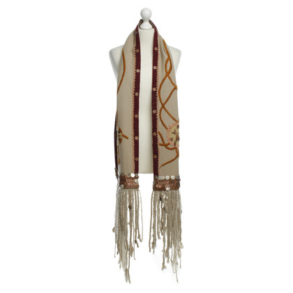 Dries van Noten Scarf with coins applications
