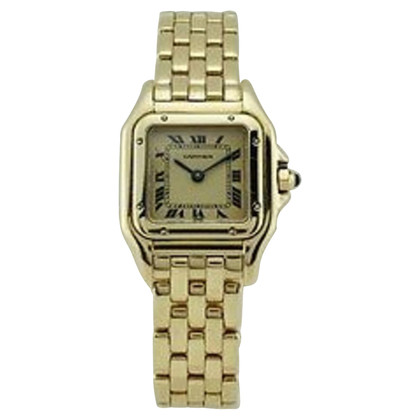 Cartier 18K Gold Panthere Uhr