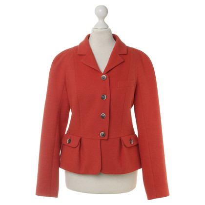 Paule Ka Blazer in coral red