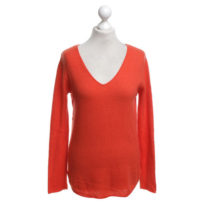 Dear Cashmere Pullover in Orange