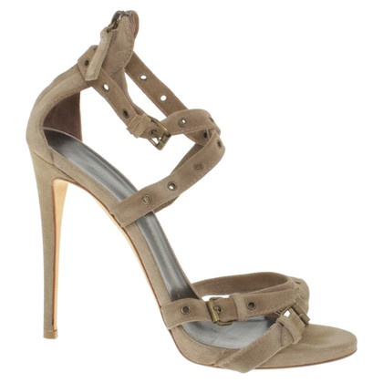 Giuseppe Zanotti Sandals with suede strap