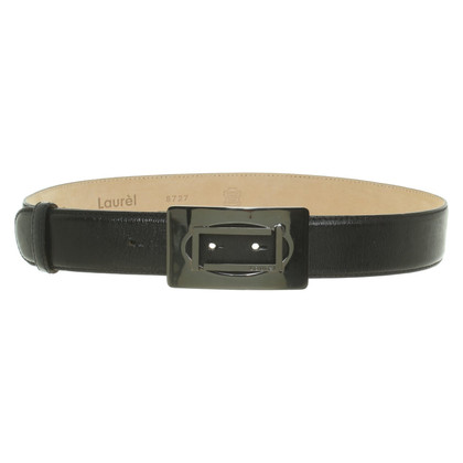 Laurèl Belt in black