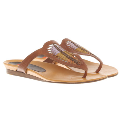 Boss Orange Leather sandals