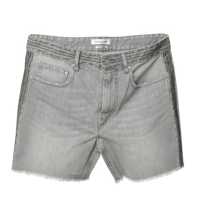 "Isabel Marant Etoile ""Agnes"" in grijs denim shorts"