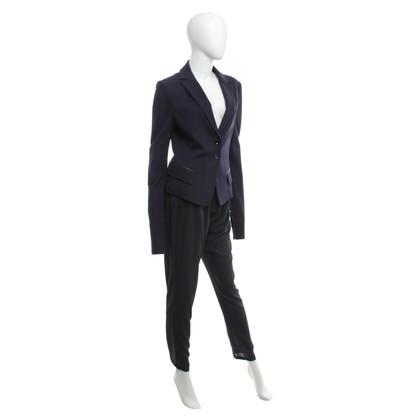 Patrizia Pepe Trouser suit in dark blue