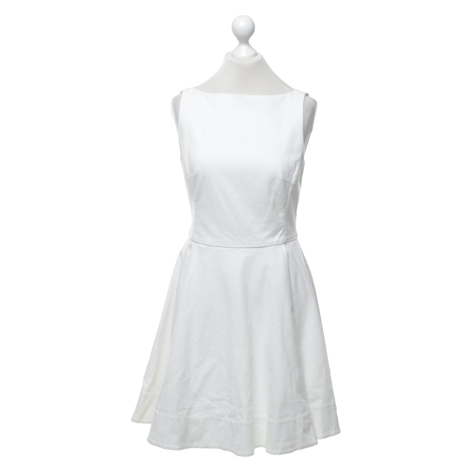 Polo Ralph Lauren Dress Cotton in White - Second Hand Polo Ralph