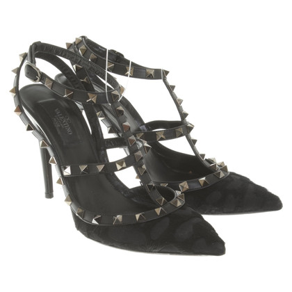 Valentino Rockstud pumps in nero