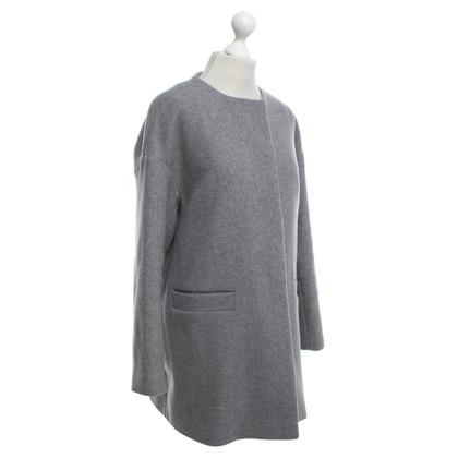 Set Coat in grijs