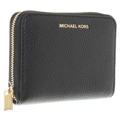 Michael Kors Portafoglio in pelle di colore nero