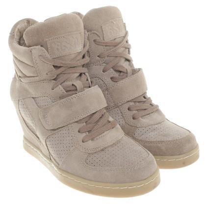 Ash coins sneaker beige