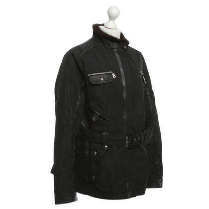 Bogner Jacket with mink collar
