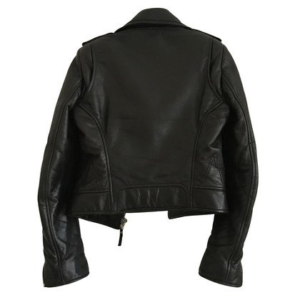Balenciaga Biker Leather Jacket