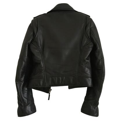 Balenciaga Giacca in pelle motociclista