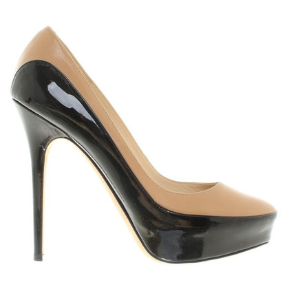 Jimmy Choo pumps in black / nude