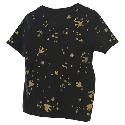 Maje T-shirt with embroidery