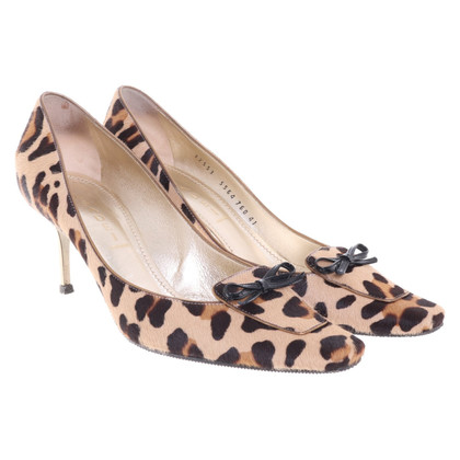Casadei pumps with animal pattern