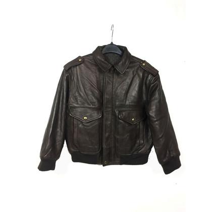 Mabrun Bomber leather jacket